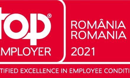 Ursus Breweries a devenit primul producător de bere din România care a primit certificarea Top Employers 2021