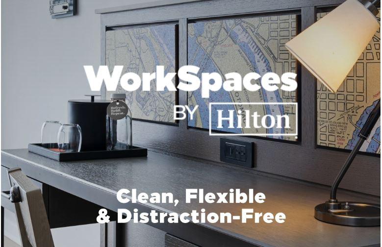 Spații de lucru pentru munca la distanță oferite de hotelul DoubleTree by Hilton Cluj-City Plaza