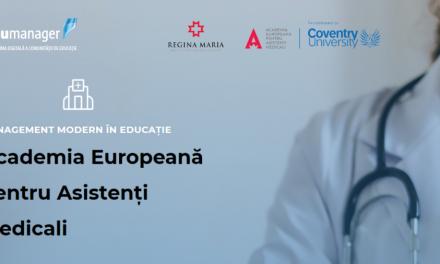 Comunitatea OSC- Edumanager: despre inovațiile si oportunitățile din domeniul educației medicale, discutate cu reprezentanții Academiei Europene pentru Asistenți Medicali