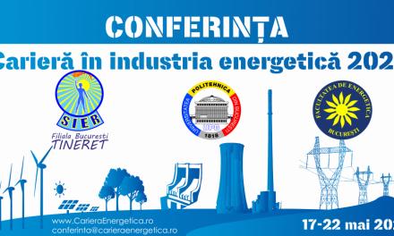 """Conferința """"Carieră în Industria Energetică"""", ediție aniversară"""