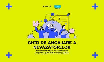 Prima inițiativă pentru accelerarea pieței muncii din România pentru nevăzători și angajatori prin măsuri la nivel de spațiu, tehnologie și echipă