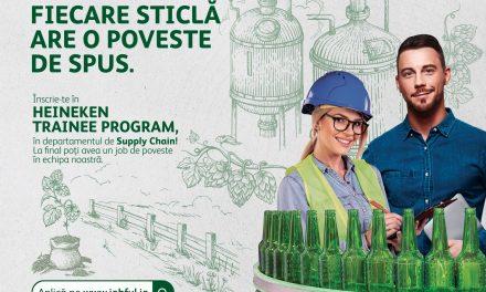 Heineken România lansează un program dedicat tinerilor care își doresc o carieră în industria berii