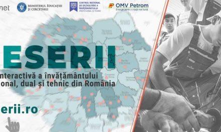 """OMV Petrom este partener în dezvoltarea platformei """"Harta meseriilor"""""""