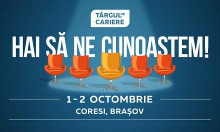 Târgul de Cariere revine la Brașov în perioada 1-2 octombrie 2021