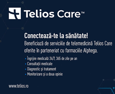 Farmaciile Alphega și Telios care cresc accesul la serviciile de sănătate prin integrarea telemedicinei în ofertă