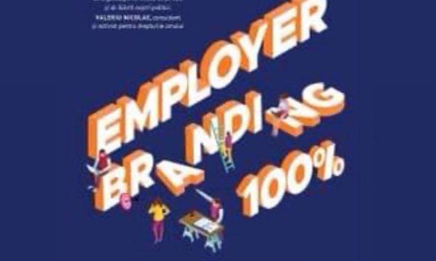 """CARTE: """"Employer Branding 100%"""", de Doru Șupeală"""